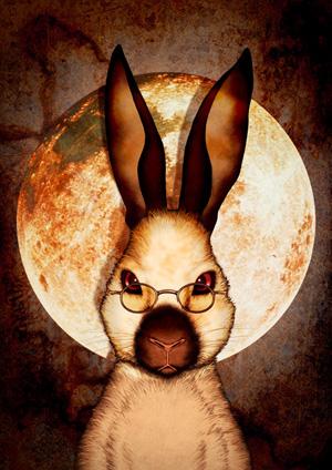 Lunar Rabbit ©KON'STONE,Inc.